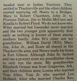 Langston Family of Love County Oklahoma