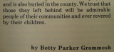 Betty Parker Grommesh