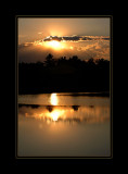 Sunset at Green Bridge