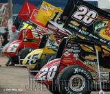 Lernerville Speedway WoO Sprints-Rain Out 07/17/07