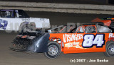 Sharon Speedway Modifieds-BRP  09/08/07