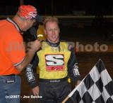 Sharon Speedway  Sprint -Twin 25's  Modifieds - BRP 09/15/07