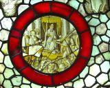 médaillon de vitrail