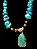 Collier de turquoise