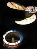 turbine et hélice