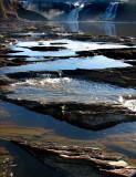 les bassins de la rivière