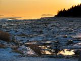 marée basse à Rivière-du-loup