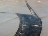 fracture de glace