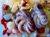 Salade de pieuvres