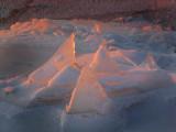 Pyramides de glace