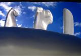 les trois  monolithes