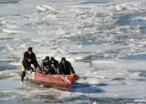 progression sur glace