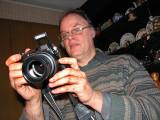 Christophe le photographe photographié