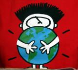 Léon et son sauvons la planète