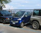 A smart  parking place