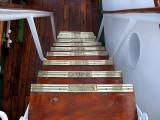 escalier entre les ponts