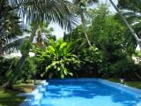 la piscine à l'eau salée