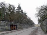 The Skogskyrkogård entrance
