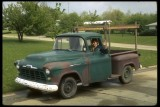 Steve Darnell and his 1957 Chevy Truck