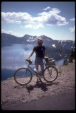 1983 Schwinn High Sierra mtn bike, and Crater Lake