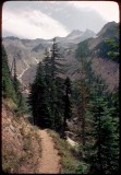 Mt Jefferson from the PCT 1977-Russell Creek