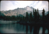 Mt Jefferson and Russell lake 1977