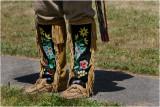 Metis moccassins & leggings