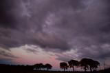 10th August 2007  purple sky