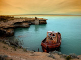 rusty boat and story..