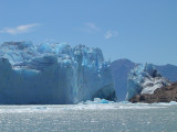 ice on the rocks..
