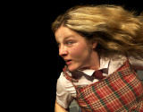 I may fly  - a one woman show by felicity jurd