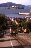 Streetcar and Alcatraz, San Francisco