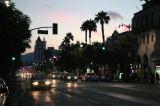 Hollywood Boulevard at Sunset, LA
