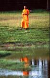 Buddhist Monk at Angkor
