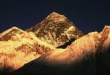 Everest at Sunset