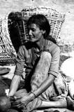 Old Woman in Durbar Square, Kathmandu