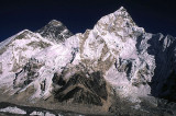 Everest and Nuptse from Kalapattar