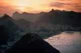 Panoramic of Rio de Janeiro from Sugar Loaf