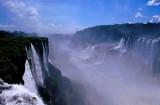 Iguazu Falls and Parana River