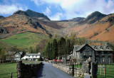 Langdale Pikes in Cumbria