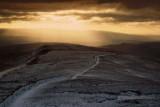 Sunrays over Whernside, Yorkshire