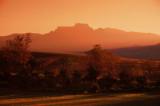 Champagne Castle at Sunset, Kwazulu Natal