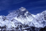 Everest seen from Nameless Towers