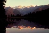 Lake Matheson sundown