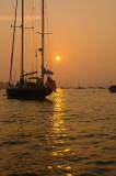 Sunset Fox Isle Thorofare