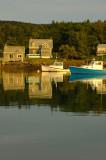 Sunsetting On Isle Au Haut