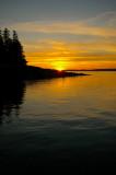 Sunset Frenchboro Island