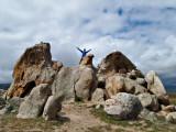 Nathalie on Eagle Rock