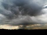 Desert storm moving in