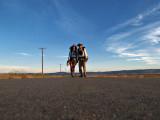 Nathalie and Aaron Mojave Desert